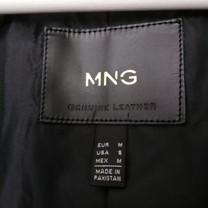 Mango Jackets & Coats - Mango leather jacket M